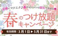 大好評!!春のキャンペーン☆