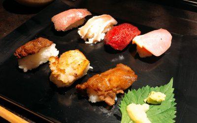 ☆念願の肉ずし食べ放題☆