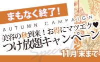 【青森市 ドリームタウンALi店】11月中がお得☆