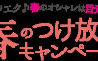 春のつけ放題キャンペーン☆彡【マルイファミリー海老名店】