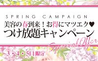 春のキャンペーン残り20日!!
