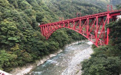 【富山CIC店】黒部峡谷トロッコ電車★